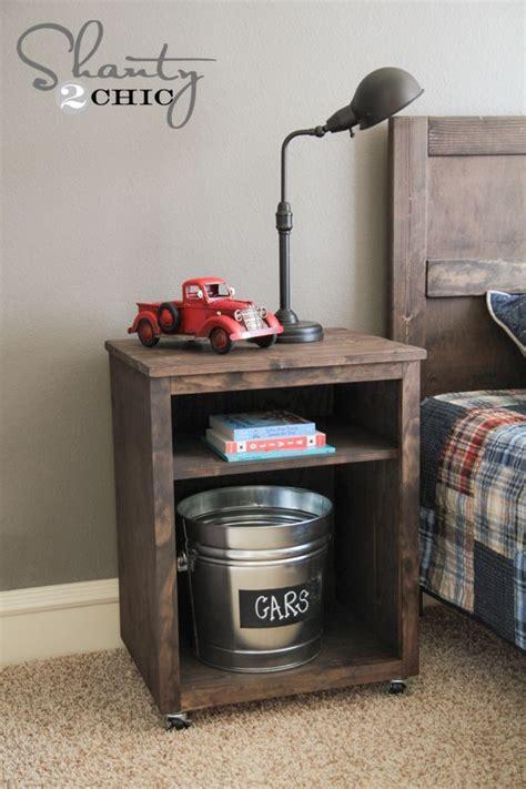 ideas  diy nightstand  pinterest crate nightstand college bedroom decor