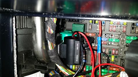 Hiding Fuse Box Car by Switched 12v Circuit In The Fuse Panel For Radar