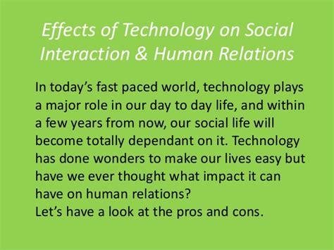 Social Interaction Impact Technology