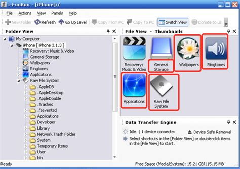 view files on iphone mac or pc to iphone file transfer and storage connect