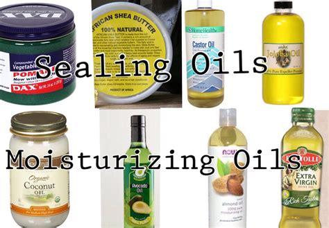 Hair Grease Taboo. Moisturizing Oils Vs. Sealing Oils