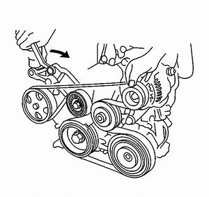 How Do You Change The Fan Belt On A 2003 Pontiac Vibe