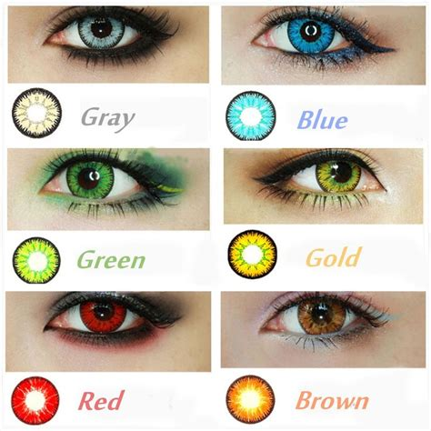 cosmetic color contacts best 20 cosmetic contact lenses ideas on