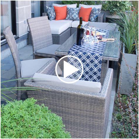 table de jardin et chaises meubler votre cour extérieur avec nos meubles de jardin