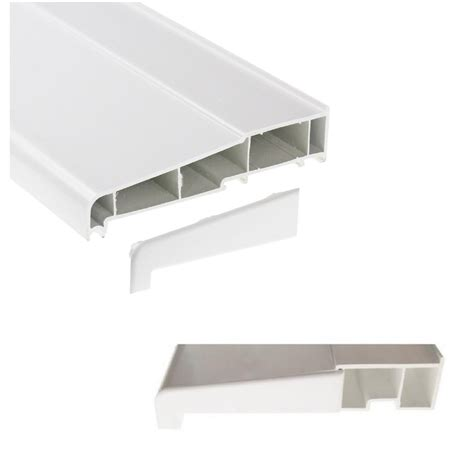 Window Sill Products by Eurocell Upvc Window Door Sill Pair Of End Caps Homesmart