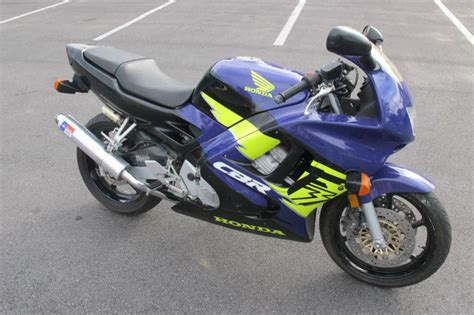 honda cbr 600cc blue 1995 honda cbr 600cc sport bike for sale on 2040 motos
