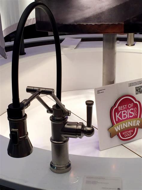 Brizo Articulating Kitchen Faucet by Best Of The 2015 Best Of Show Kbis Awards Cook Remodeling