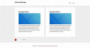 genesis blog posts template fully customizable With blogger post template code