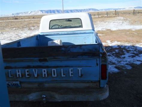 sell   chevrolet  small rear window pickup cst