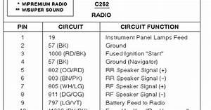 2003 Ford Focus Radio Wiring Diagram
