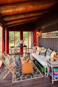Top, 40, Screened, In, Porch, Ideas, For, All, Seasons, Small, Deck, And, Cool