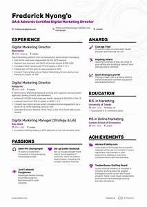Resume Sample Marketing Job Winning Digital Marketing Director Resume Examples