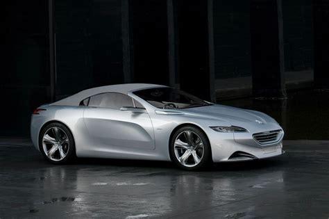 peugeot car one peugeot sr1 concept released autoevolution