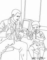 Coloring Dentist Surgery Pages Dental Kid Printable Hellokids Job Getcolorings sketch template