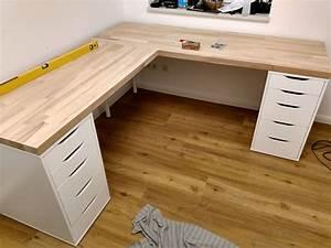 Schreibtisch Selbst Bauen : eckschreibtisch selber bauen ganz einfach kwaara ~ A.2002-acura-tl-radio.info Haus und Dekorationen