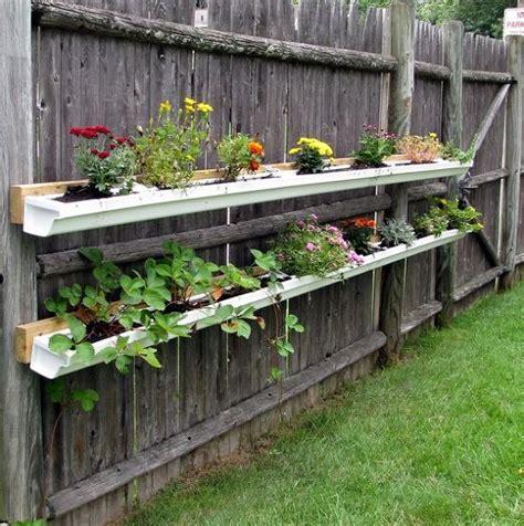 Gutter Vertical Garden by 13 Vertical Diy Gutter Garden Ideas For Small Spaces