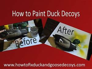 How To Paint Duck Decoys  U0026 Free Printable Instructions
