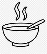 Bowl Soup Clipart Coloring Pinclipart Drawing Clip sketch template