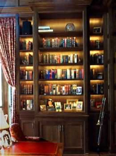 Bookcase Lights by Library Shelf Display Lights Custom Cabinet Lighting