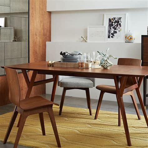 west elm mid century table mid century expandable dining table west elm