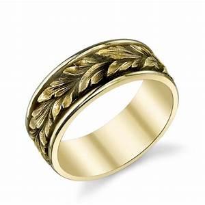 Van craeynest hand engraved art deco men39s wedding ring for Engraving on mens wedding rings