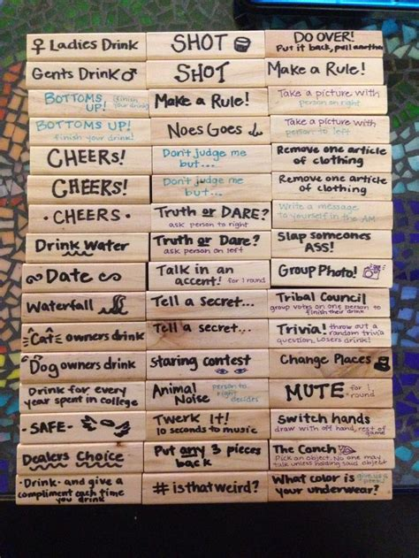 jenga tile ideas jenga tile ideas related keywords jenga tile ideas