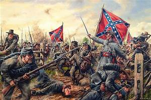 Charge Of The Tarheels Painting by Dan Nance