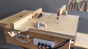 Homemade 4 in 1 Workshop (table saw, router table, disc