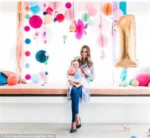Inside Rebecca Judd's daughter's lavish first birthday