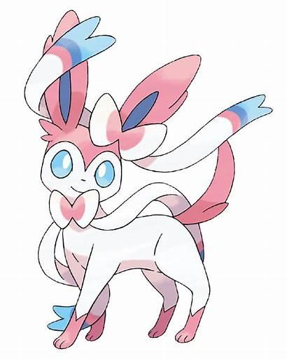 Sylveon Official Concept Pokemon Artwork Eevee Slyveon