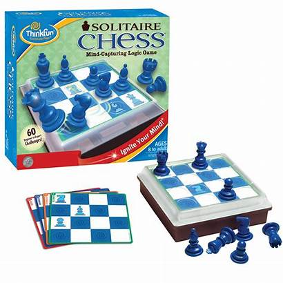 Solitaire Chess Games Puzzle