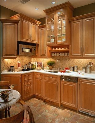 luxury maple kitchens maple cabinets  antique french terra cotta floors blend