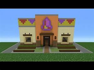 Minecraft Tutorial: How To Make A Taco Bell (Restaurant ...