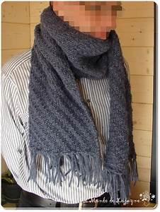 Echarpe Homme Tricot : echarpe tricot homme ~ Melissatoandfro.com Idées de Décoration