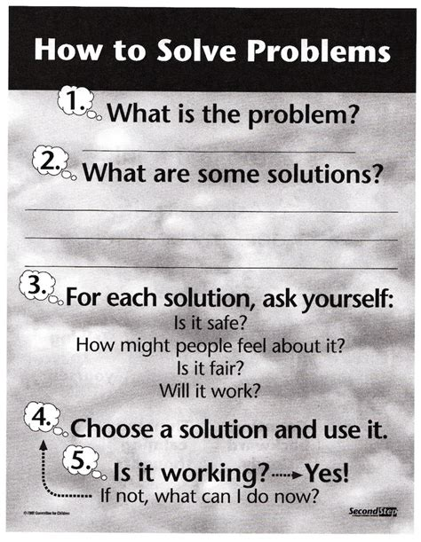 Second Step  Impulse Control And Problem Solving  Ist Elementary Counseling