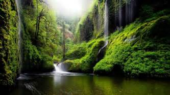 wedding day messages landscape waterfall in oregon usa nature river