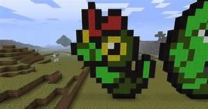 Original 151 Pokemon Pixel Art (1-20) Minecraft Project