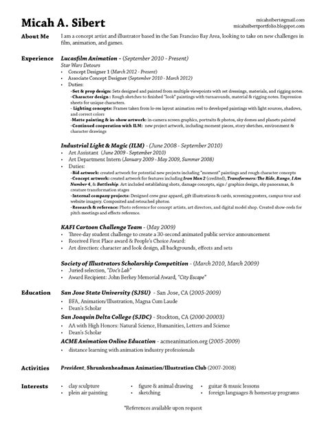 resumes sles for resume summary exles