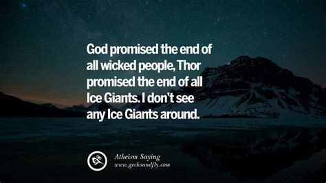 Don't you deserver a laugh? 42 Funny Atheist Quotes About God's Existence, Fate And Life