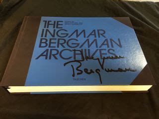 They can also make an incredibly thoughtful present—the kind that tells the recipient just how well you know them! HE INGMAR BERGMAN ARCHIVES HARDCOVER TASCHEN COFFEE TABLE BOOK BY DUNCAN, PAUL. VERY GOOD ...