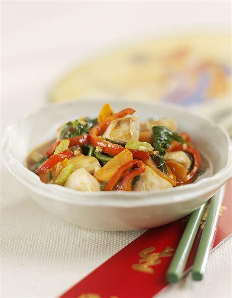 cuisine blanc de poulet poulet chinois pour 4 personnes recettes à table