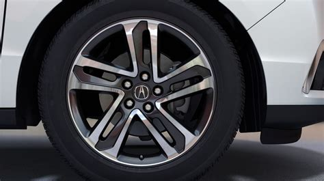 Acura Tires by 2017 Acura Mdx Safety Features Protect And Prevent