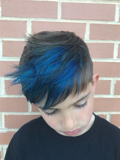 Boy Blue Highlights Hair Hairhair And More Hair In 2019