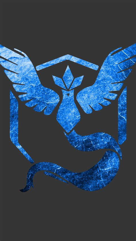wallpaper pokemon  team mystic team blue  games