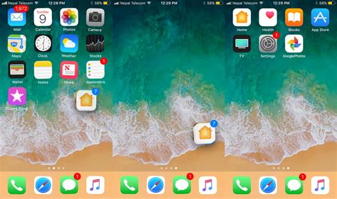 how to move app icons on iphone how to move arrange app icons at once in ios 11