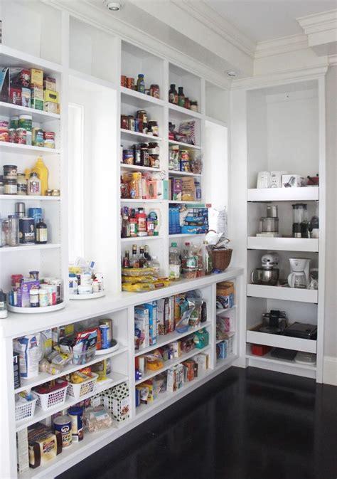 Open Kitchen Pantry Shelving  Interior & Exterior Doors