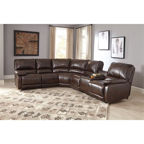 reclining sectional sofa with massage and heat ashley signature design hallettsville power reclining