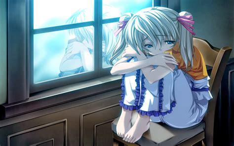 Sad Girl Anime Photo For Timeline ~ Charming Collection Of