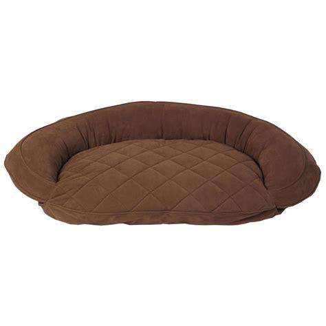 Bolster Bed by Carolina Pet Co 174 Microfiber Bolster Bed 300085 Kennels