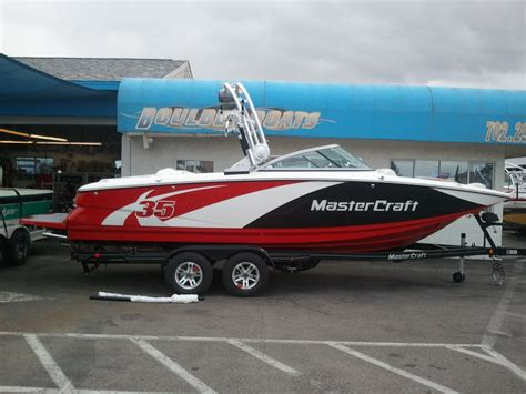 Mastercraft Boat Brands by Boulder Boats Brand New 2012 Mastercraft X 35